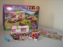 Lego Friends - Kalandos táborozás 3184 (dobozzal+katalógussal)