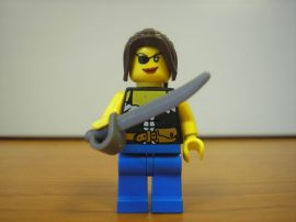 Lego Pirates figura - kalózlány (pi101)