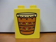 Lego Duplo képeskocka - dob (pici karc)