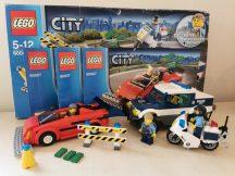 Lego City - Vakmerő száguldás 60007 (doboz+katalógus)
