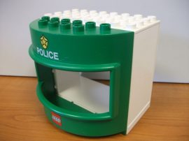 Lego Duplo Rendőrségi fal elem