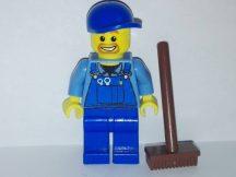 Lego Town figura - Overálos munkás (cty048)