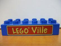 Lego Duplo képeskocka - lego ville (karcos)