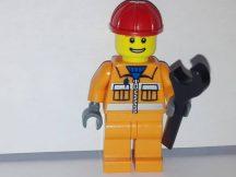 Lego City figura - Épitőipari munkás (cty034)