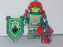 Lego Nexo Knights figura - Aaron - Trans-Neon Orange Visor (nex068)