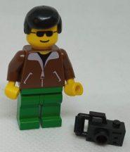 Lego Town figura - Jacket Brown (twn013)