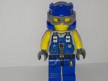 Lego Power Miners figura - Mérnök (karcos, kopott) (pm014)