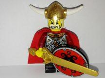 Lego Viking Figura - Viking Király (vik011)