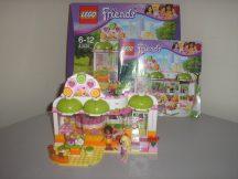Lego Friends - Heartlake Juice Bar 41035 (doboz + katalógus)