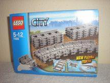 Lego City - Rugalmas sínek 7499 ÚJ termék