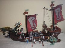 Lego Castle - Troll hadihajó 7048