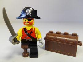 Lego Pirates figura - Kalóz (pi022)