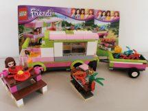 Lego Friends - Kalandos táborozás 3184 (katalógussal) (pici hiány, eltérés)