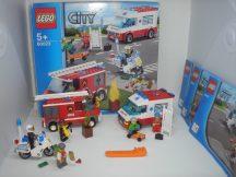 Lego City - Kezdő készlet 60023 (mentő, tűzoltó, rendőr)