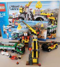 Lego City - Bánya 4204 (Doboz+katalógus)