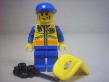 Lego City figura - Parti őrség  7739 (cty077)