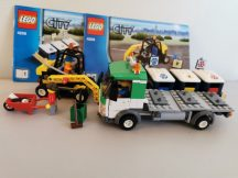 Lego City - Hulladékgyűjtő autó 4206 (katalógussal)