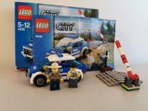 Lego City - Járőrkocsi 4436 (doboz+katalógus)