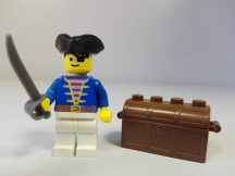 Lego Pirates figura - Kalóz (pi006)