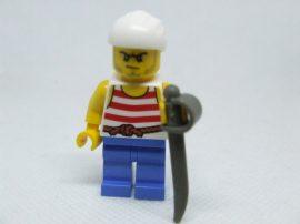 Lego Pirates figura - kalóz (pi170)