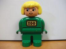 Lego Duplo ember - zoo lány (pici kopás)