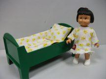Lego Duplo Dolls lány + ágy és ágynemű