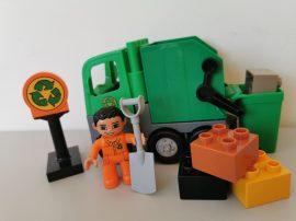 Lego Duplo - Kukásautó, Szemétszállító autó 4659