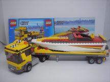 Lego City - Motorcsónak szállító 4643