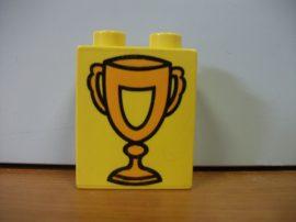 Lego Duplo képeskocka - kupa