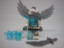 Lego Legends of Chima figura - Voom Voom - Trans-Light Blue Armor  (loc107)