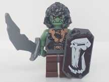 Lego castle figura - Fantasy Era - Troll Warrior 2 + kard, pajzs (cas365)
