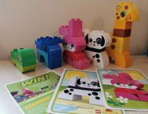 LEGO DUPLO Kreatív építés - Kreatív állatok 10573 (kártyalappal)