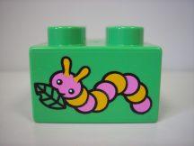 Lego Duplo képeskocka - hernyó, kukac, giliszta