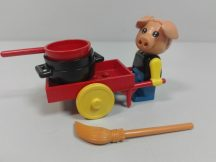 Lego Fabuland - Hugo malac a bádogos 3784 (figura lába laza)