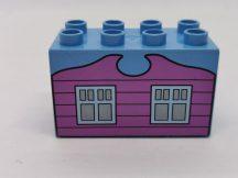 Lego Duplo képeskocka - ház (karcos)