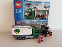 Lego City - Teherautó 60020 (doboz+katalógus)
