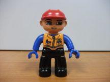Lego Duplo ember -  fiú kék kezű