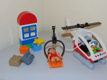 Lego Duplo - Mentőhelikopter 5794 (emelő részén nyomódás, rágás)