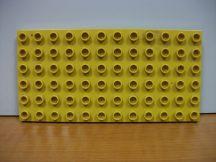 Lego Duplo Alaplap 6*12 (mustársárga)