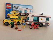 Lego City - Autó és lakókocsi 4435 (katalógussal)