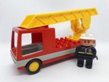 Lego Duplo tűzoltóautó figurával 2691 készletből