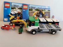 Lego City - Hulladékgyűjtő autó 4206 (Doboz+katalógus)
