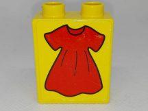 Lego Duplo Képeskocka - Ruha (matricás)