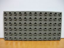 Lego Duplo Alaplap barnás. szürke 6*12
