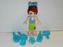 Lego Friends figura - Mia + hajformázó kiegészítők (frnd167)