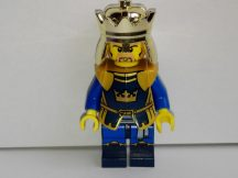Lego Castle figura - Crown King (cas422) ÚJ