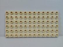 Lego Duplo Alaplap 6*12 krém színű