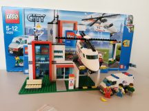 Lego City - Mentőhelikopter állomás 4429 (doboz+katalógus)