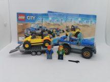 LEGO City - Homokfutó-szállító (60082) (katalógussal, pici eltérés)