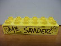 Lego Duplo képeskocka - mr sanders